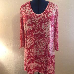 NWT- Shoreline scoop neck blouse, size 2X